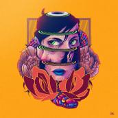 Hidden Faces. . Um projeto de Ilustração de Charringo - 14.08.2017