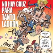 Portadas (y portadas interiores) para El Jueves.. Un proyecto de Cómic de Raúl Salazar - 01.08.2017