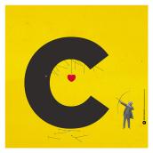 Abecedario Imaginario. Un proyecto de Ilustración, Diseño gráfico, Tipografía, Collage y Caligrafía de Pedro Peinado - 06.11.2014