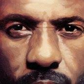 Idris Elba, Soho House Magazine. A Illustration project by David de las Heras - 08.28.2017