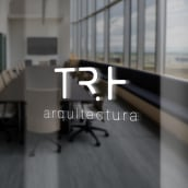 TRH arquitectura. A Graphic Design project by Melanie Mercer - 08.29.2017
