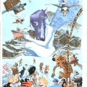 Cartel para La Massana 2006. Un proyecto de Ilustración de Sergio Bleda - 30.08.2017