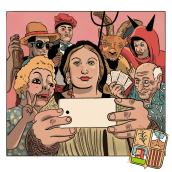 Festa Major Ordal part 2. Un proyecto de Cómic, Diseño de personajes e Ilustración de Rosa Codina - 05.09.2017