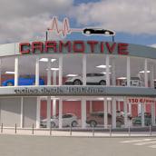 Edificio Carmotive. Un proyecto de 3D y Arquitectura de Miguel Angel Calvo - 11.06.2016