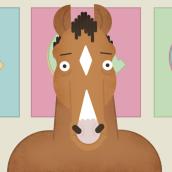 Bojack is back!. Un proyecto de Motion Graphics, Animación, Animación de personajes e Ilustración vectorial de alequis - 07.09.2017