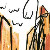 El Buscador (cuento). A Illustration project by Mónica Rodrigo Magro - 09.10.2017