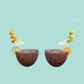 3D Bra Cocktail. Um projeto de 3D, Direção de arte e Design gráfico de Rebeca G. A - 11.09.2017
