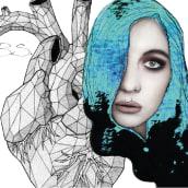 Mi Proyecto del curso: Retrato ilustrado con Photoshop. A Illustration project by Pilar Su - 09.14.2017