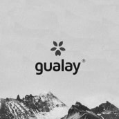 Gualay - Mountain Clothes. Un proyecto de Diseño, Moda y Diseño gráfico de Nabú Estudio Gráfico - 15.09.2017