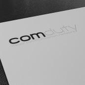 Imagen corporativa para Comduty, empresa de producción de eventos y plv.. A Graphic Design project by Uri - 01.15.2012