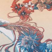 La pluma es femenina. Un proyecto de Ilustración de Tavo Montañez - 15.09.2017