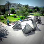 EXPANSIÓN DE IDEAS. Arquitectura efímera. Un progetto di Design, 3D, Architettura, Design industriale , e Product Design di Pablo Lardón - 08.06.2016