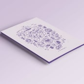 Sergio&Leire — Invitación de boda. A Illustration, Grafikdesign, Vektorillustration und Icon-Design project by Sara Moreno - 28.02.2016