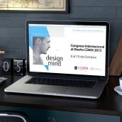 Congreso Internacional a! Diseño. Un progetto di Web Design di Arturo Servín - 04.10.2017