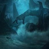Lovecraft. A Illustration project by Guillem H. Pongiluppi - 12.01.2016