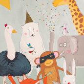 Animalada. Un proyecto de Ilustración de Berta Fortet Berne - 13.10.2017