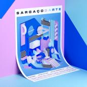 Sargaçodarte. Um projeto de Ilustração, 3D, Animação e Design gráfico de Serafim Mendes - 05.10.2017