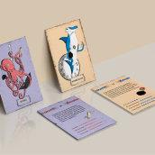 Trending cards. Um projeto de Design, Ilustração e Design gráfico de Francisco Di Candia - 14.10.2017