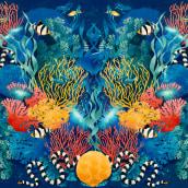 Wildlife patterns. Un proyecto de Ilustración, Pattern Design y Diseño de producto de Carla Lucena - 20.10.2017