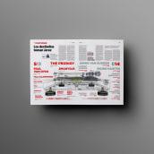 Editorial I. Páginas dobles. Um projeto de Design editorial de Noir Design - 25.10.2017