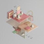 ISOMETRIC SHAPES Vol. I. Un proyecto de 3D, Dirección de arte e Ilustración de Javier Torres - 03.11.2017