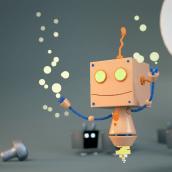 Mi Proyecto del curso: Introducción al Diseño y Modelado 3D con Blender. Un progetto di Motion Graphics, Character Design, Product Design , e Modellazione 3D di Kevin Rafael Araujo - 07.10.2017