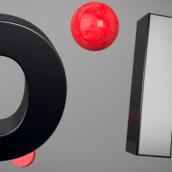 VISION Free Font - Teaser. Un proyecto de 3D, Animación y Tipografía de bydani - 20.11.2017