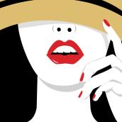 Mi Proyecto del curso: Ilustración de personajes para prensa. Un projet de Illustration, Character Design, Mode, Retouche photographique et Illustration vectorielle de Ale Fisichella - 01.04.2017