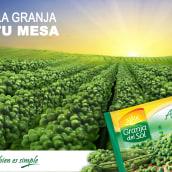 Publicidad para marca Granja del Sol. Un projet de Publicité , et Design graphique de Ale Fisichella - 26.11.2017