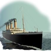 Infografía del Naufragio del Titanic - Ilustraciones realizadas en Adobe Illustrator. Un projet de Illustration, Infographie et Illustration vectorielle de Ale Fisichella - 26.11.2017