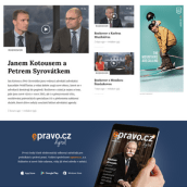 Epravo, Czech finance portal. Um projeto de Web design de Six Design - 04.12.2017