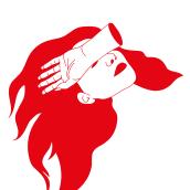 Las brujas rojas. Un proyecto de Diseño, Ilustración, Bellas Artes, Diseño gráfico e Ilustración vectorial de Mónica San Pablo - 05.12.2017
