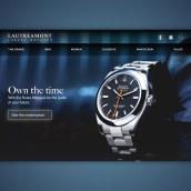 A concept for an e-commerce home page.. Un projet de Web Design de Ernesto Pérez Araque - 17.12.2017