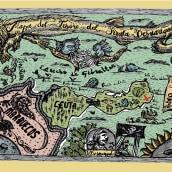 """El Mapa del Tesoro del Pirata Desnarigado""  Primer Premio de Ilustración . A Design, Illustration, Animation, Design von Figuren, Bildung, Bildende Künste, Spieldesign und Comic project by Gemma RM - 18.12.2017"