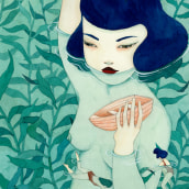 Ilustración. A Illustration project by Hilda Palafox - 19.12.2017