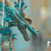 Mitos Peluqueros. Um projeto de Direção de arte, Br, ing e Identidade, Design gráfico e Design de interiores de Jorge Exposito - 03.01.2018