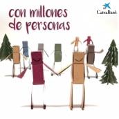 Video stop motion con papel para Caixabank - Feliz Navidad. Un projet de Papercraft , et Stop Motion de Estela Moreno Orteso - 10.12.2017