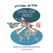 La semana que viene en México DF por 11 días. Un proyecto de Cómic de Miguel Gallardo - 12.01.2018