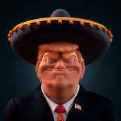 TRUMP IS DUMB. A Illustration, 3D, and Comic project by Conspiracystudio - 01.16.2018