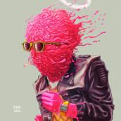 Santo. Un proyecto de Ilustración, Diseño de personajes y Diseño gráfico de Pedro García Castañeda - 18.02.2016