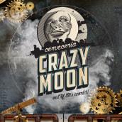Carteles - Crazy Moon - Cervecería. A Design, Illustration, and Art Direction project by Ademar García - 01.23.2018