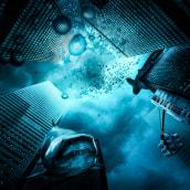 the world of business-fotomontaje y el retoque creativo. Um projeto de Fotografia, Design de iluminação, Colagem e Retoque fotográfico de wozniczka_zuzanna - 29.01.2018