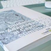 DISEÑO Y MAQUETACIÓN MEMORIA. omau, proyectos europeos.. A Verlagsdesign, Grafikdesign, T und pografie project by Manuel J. Morente Morente - 31.01.2018
