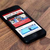 Triatletas En Red | La Web de Triatlón del Diario SPORT. A Graphic Design, Web Design, and Web Development project by Carlos Villarin Rodriguez - 02.01.2018