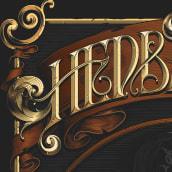 Hedbanger. Un projet de Design , Illustration, T, pographie , et Lettering de Havi Cruz - 03.02.2018