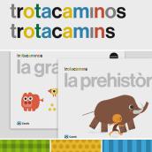 Trotacaminos / Trotacamins. A Illustration, Editorial Design, T, and pograph project by Enric Jardí - 02.13.2018