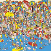 La plage, Mejor Ópera Prima en Bolonia. A Verlagsdesign und Illustration project by PENCIL·ILUSTRADORES - 16.02.2018