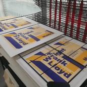 Proyecto de póster para la exposición de Frank Lloyd Wright del MoMA. Un projet de Design , Événements, Design graphique , et Sérigraphie de Júlia Rodríguez Castellví - 12.03.2017
