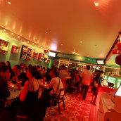 Santo Jarocho Restaurante de comida Mexican. Um projeto de Design de interiores de Zoveck Estudio - 06.03.2015