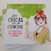 Las Chicas son de Ciencias. A Illustration project by Núria Aparicio Marcos - 03.06.2018
